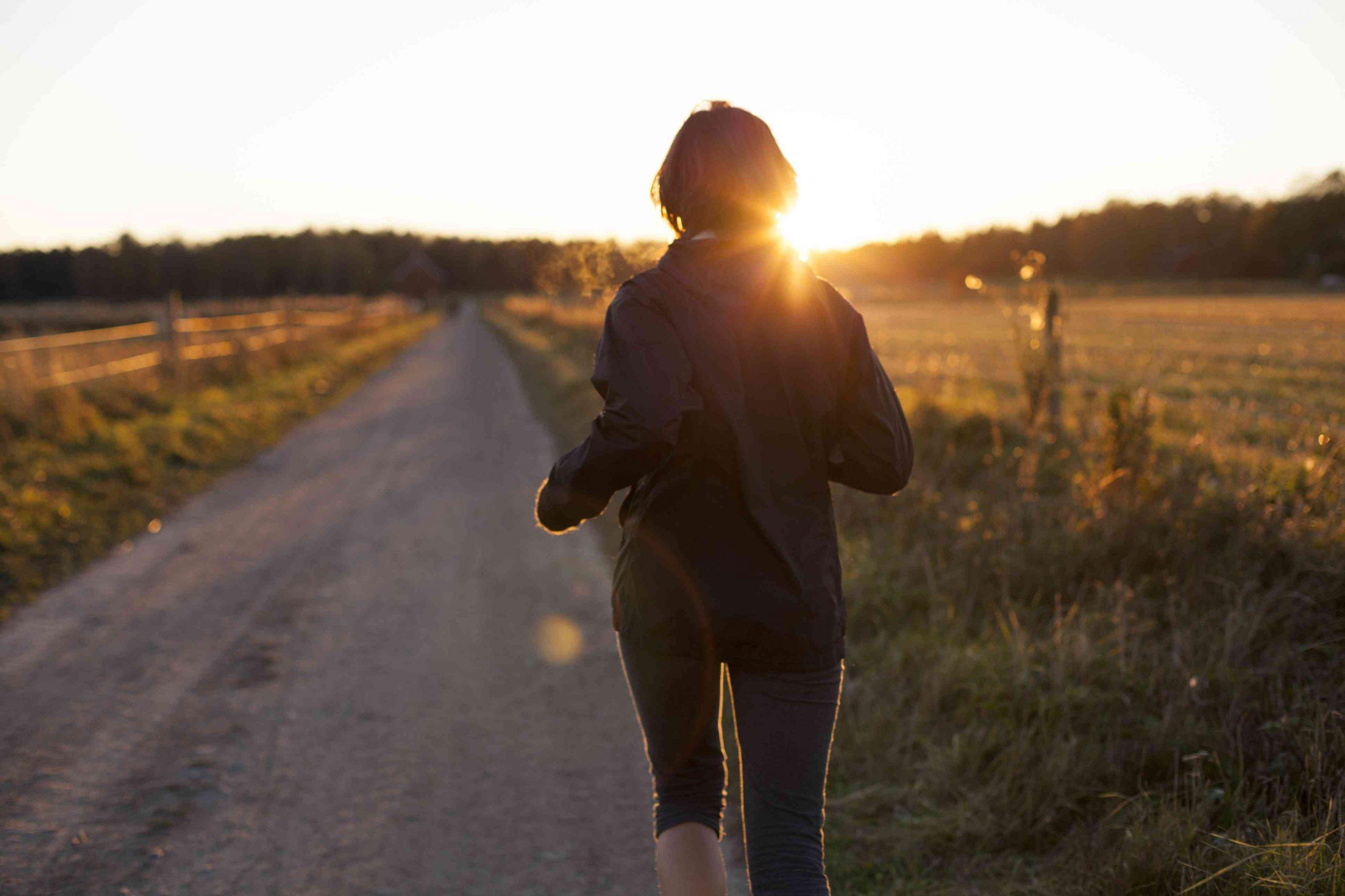 Esercizi per una donna incinta al settimo mese - Camminare per una donna incinta