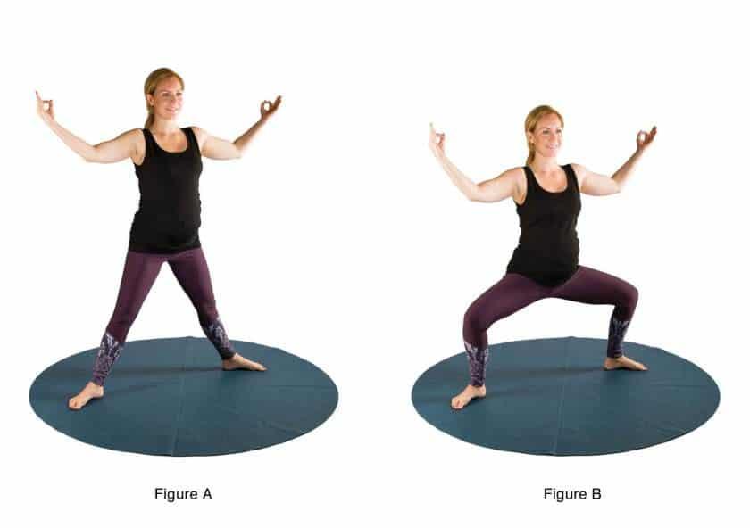 Esercizi di yoga nel secondo trimestre di gravidanza: il secondo esercizio