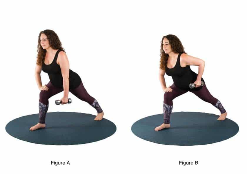 Esercizi di yoga nel secondo trimestre di gravidanza: il terzo esercizio