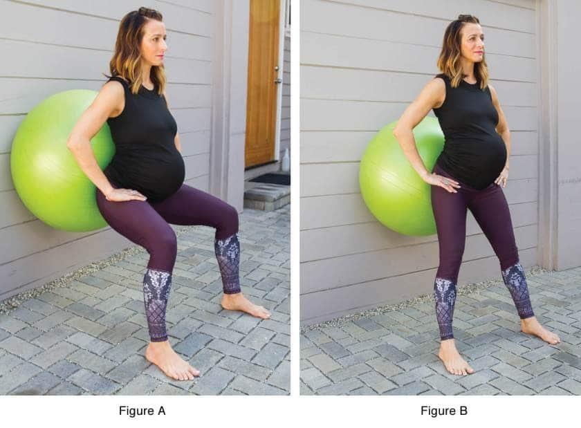 Esercizi di yoga nel terzo trimestre di gravidanza: il terzo esercizio