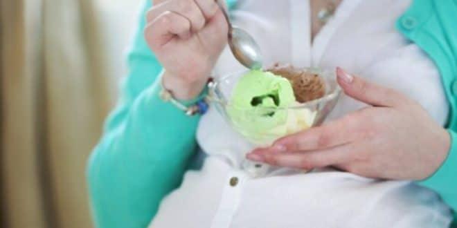 Danni al gelato su donne in gravidanza