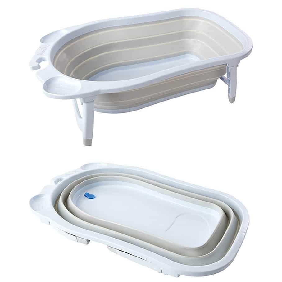 Vasca da bagno pieghevole