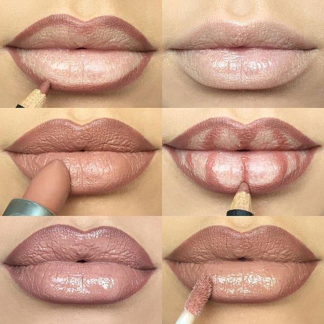 Contorno per l'aumento delle labbra