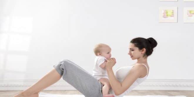 Esercizi per perdere peso dopo il parto