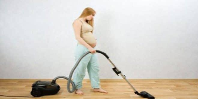 Pulizia durante la gravidanza .. Cosa fare e cosa non fare