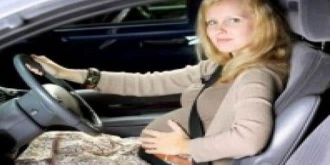 Suggerimenti importanti per guidare un'auto durante la gravidanza