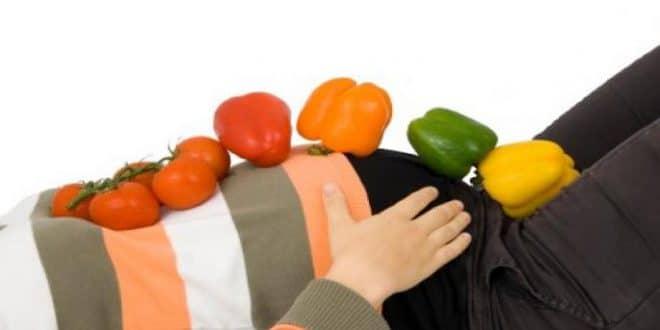 Una dieta sana durante la gravidanza