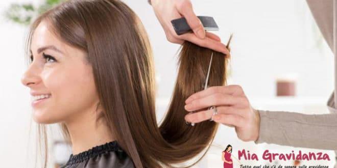 Il taglio dei capelli per le donne incinte è sicuro?
