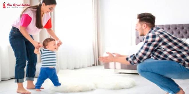Insegnare al bambino a camminare: Raccomandazioni