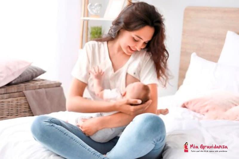 posizioni migliori per allattare