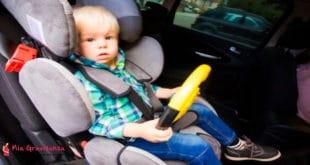 Quanto tempo devono viaggiare i bambini sul seggiolino auto