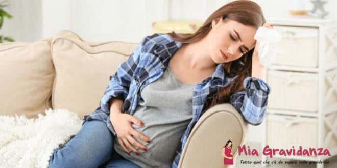 Quali sono i sintomi della corona per una donna incinta?