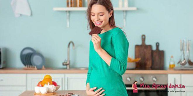 Esiste una relazione tra il consumo di dolci per una donna incinta e il sesso del feto?